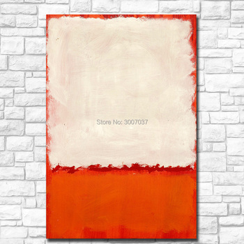 Free Shipping Fashion UNTITLED Mark Rothko 100% Handpainted Oil Painting Home Decor On Canvas Modern Wall Art Canvas Painting