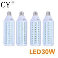 Inno 4pcs 30W LED Corn Bulb 220v E27 LED Video Light Corn Lamp 5730 SMD Photo Studio Bulb Photographic Lighting