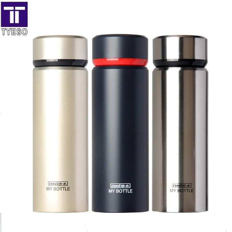 нержавіюча сталь термос кухоль чай termos inox соломи термо портативний мішок пляшку води в офісі домашній автомобіль хороший подарунок чорний колбу