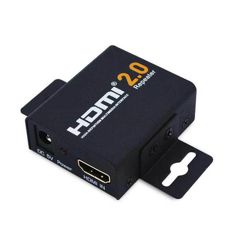 4 K x 2 K 2.0 HDMI Repeater HDMI Extender 1080 P 3D HDMI Kabel Adapter Signaalversterker Booster Over signaal HDTV tot 60 m