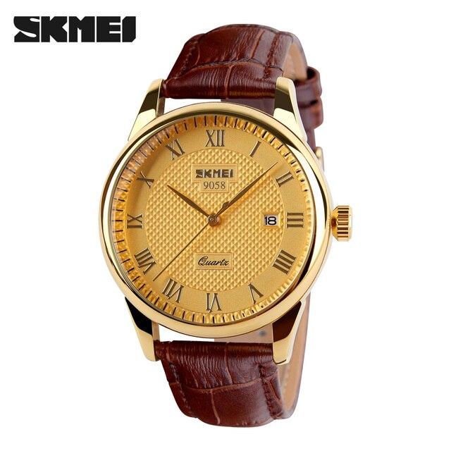 Mens Watches Top Brand Luxury Quartz Watch Skmei Fashion Casual Business Watch Male Wristwatches Quartz-Watch Relogio Masculino