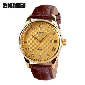 Image 3 - Mens Watches Top Brand Luxury Quartz Watch Skmei Fashion Casual Business Wristwatches Waterproof Male Watch Relogio Masculino