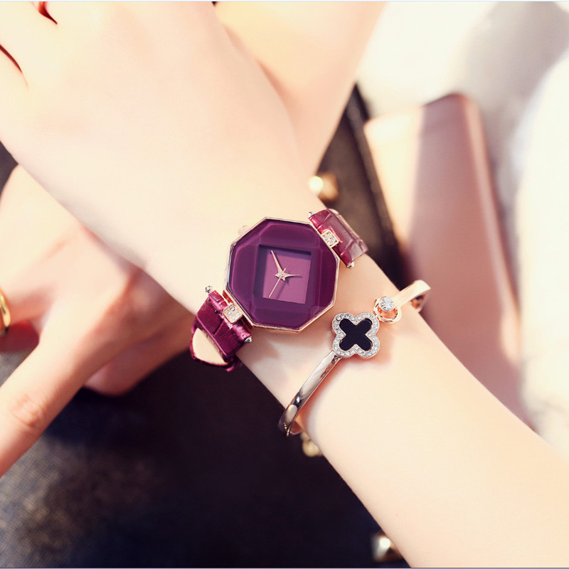 high-quality 2016 new 5color jewelry watch fashion gift tabl