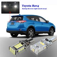 6000 K белый Canbus без ошибок 912 W16W T15 Автомобильный светодиодный лампы подходит 2006- Toyota RAV4 для Toyota Previa RAV 4 светодиодный фонарь заднего хода резервное копирование