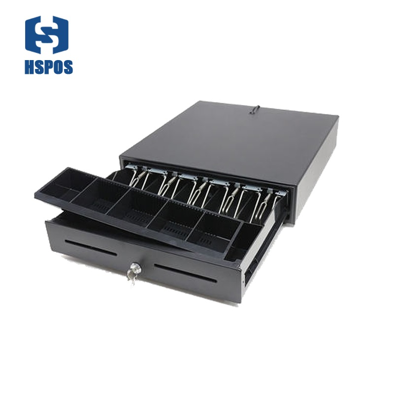Cash Drawer Cash Box Support 5 bills 5 coins Tray for Supermarket With RJ11 Port