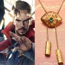 Marvel Doctor Strange Eye of Agamotto Necklace The Avengers 4 Endgame Cosplay Prop Alloy Superhero Pendant цена