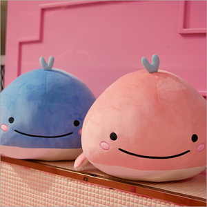 15CM Cute Down cotton whale plush toy super soft dolphin pillow Stuffed toys high quality Aquatic creatures birthday gift(China)