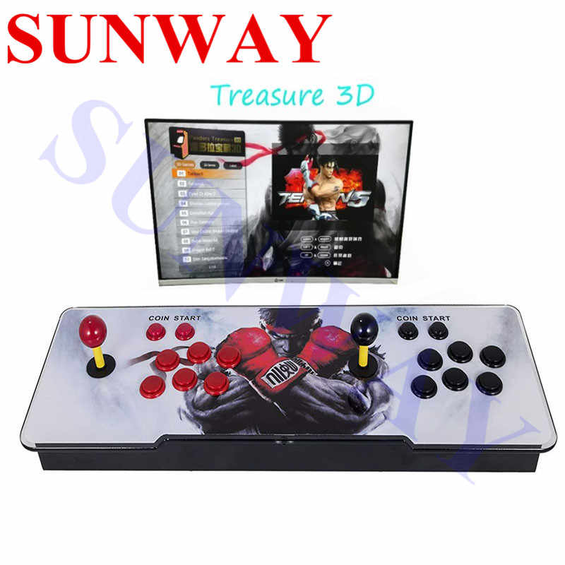 Ps3 Games 2020.3d Box 2020 In 1 Arcade Game Console For Tv Pc Ps3 Monitor Support Hdmi Vga Usb With Pause Pandora Video Arcade Machine