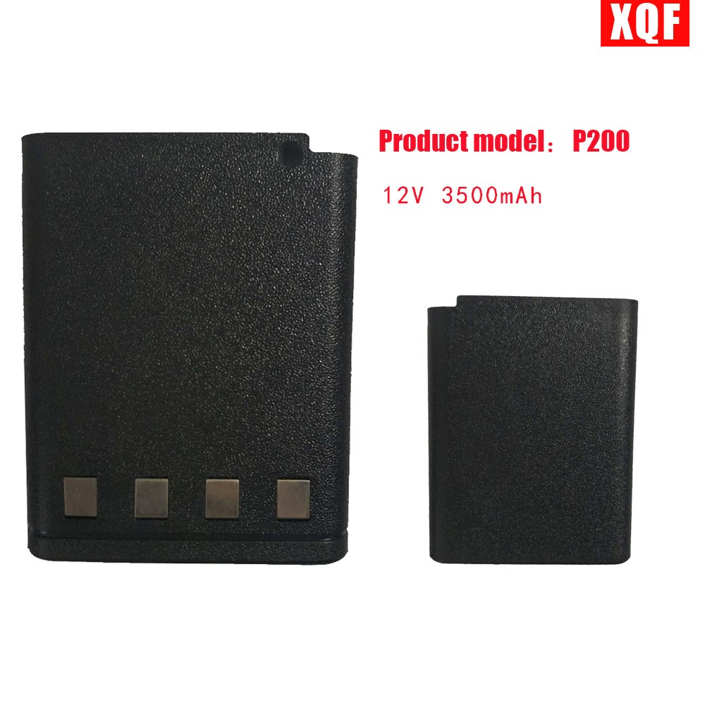 XQF 12V 3500mAh Battery For MOTOROLA Radio HT600 HT800 Two Way Radio