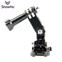 SnowHu Hot sale photography accessories Andoer Three way Adjustable Pivot Arm for Gopro Hero 9 8 7 6 5 4  for SJ4000 Camera GP15