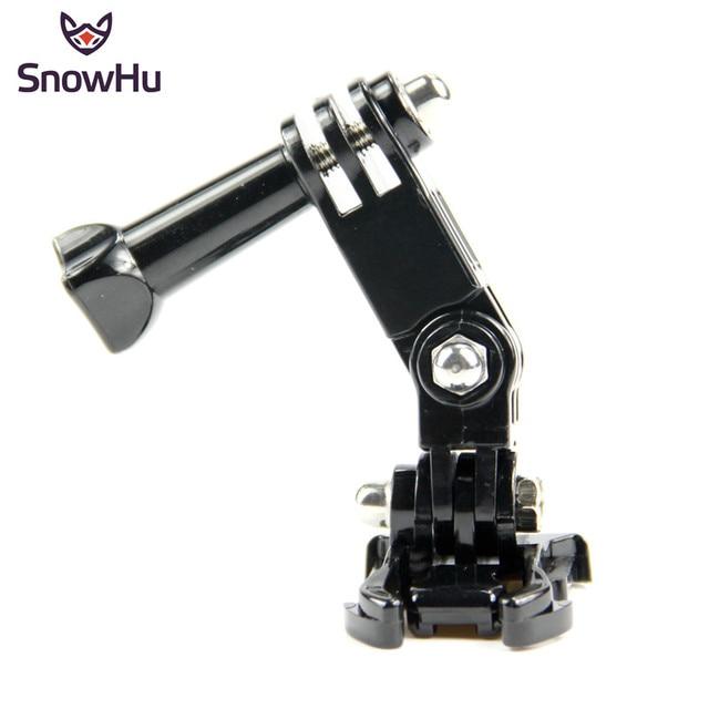SnowHu sıcak satış fotoğraf aksesuarları Andoer üç yönlü ayarlanabilir Pivot kol Gopro Hero 9 8 7 6 5 4 için SJ4000 kamera GP15