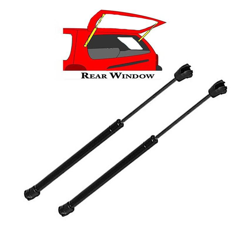 2Pcs For 2005-2013 Nissan Pathfinder  Rear Window Lift Supports Struts 6607 SG325028 forex b016 6607