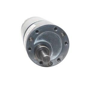 """Image 5 - 12VDC 8 1000 סל""""ד מומנט גבוה נמוך סל""""ד DC מנוע כל מתכת נמוך רעש הילוך מנוע JGB37 545"""