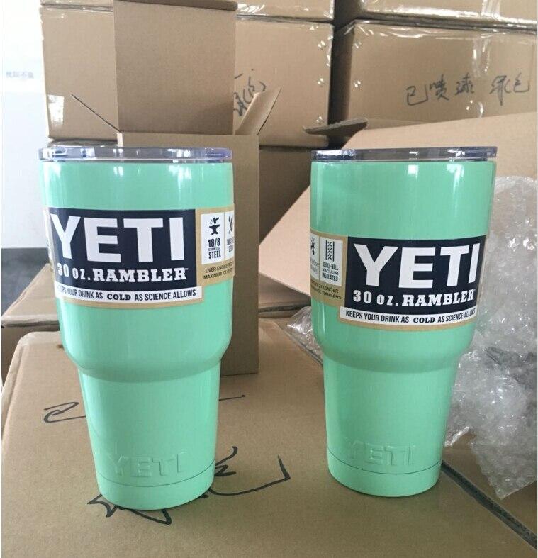 <font><b>2016</b></font> Newest 30oz Green color <font><b>YETI</b></font> <font><b>Coolers</b></font> <font><b>Rambler</b></font> Bilayer Vacuum Insulation <font><b>Cup</b></font> <font><b>Tumbler</b></font> Mug