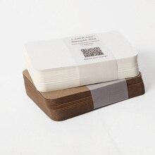 120 штук чистая крафт-бумага бумажная доска картонная бумага 350GSM
