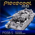 3D Jigsaw Classic DIY Metallic Nano Puzzle Centurion Tank Model Kids Educational Puzzles Tank Model Toys For Children&Adults