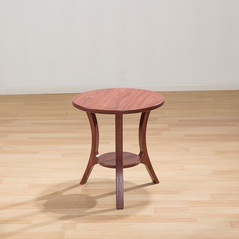Antique Furniture Solid Wood Tea Table Round Retro Wooden