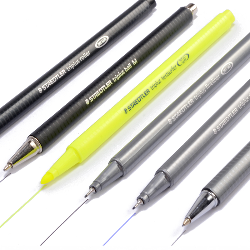 6pcs/set German Staedtler Gel Pen Fiber Pen Signing Pen Ballpoint Pen Mechanical Pencil Highlighter Pen Marker 34 SB6B 0.5mm 6pcs set german staedtler gel pen fiber pen signing pen ballpoint pen mechanical pencil highlighter pen marker 34 sb6b 0 5mm