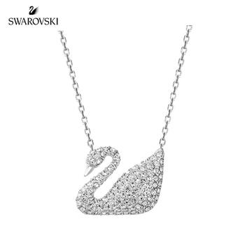 d242dc23f651 CDE colgante collar adornado con cristales de corazón de Swarovski collar  alas de Ángel mujeres joyería collar mamá regalo
