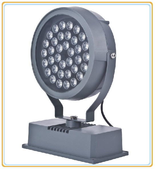 4pcs/lot, 36w Led Floodlight Light,ip65,grey Aluminum,ccc,ce,rohs, Outdoor Lamp, Free Shipping