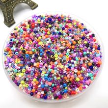 Glass-Seed-Beads Jewelry-Making Earring Necklace Crystal-Spacer Bracelet Diy 2mm