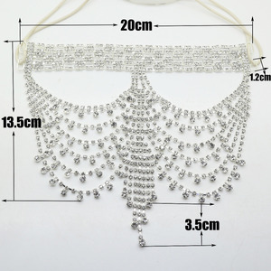 Image 3 - Free Shipping Fancy Rhinestone Mask for Party Masquerade Party Masks Crystal Christmas Party Mask Supply.