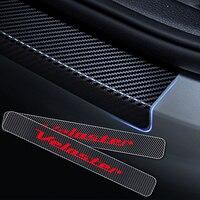 4D виниловая наклейка из углеродного волокна для Hyundai Veloster Автомобильный порог Накладка на порог двери наклейка s автомобильный Стайлинг 4 шт...