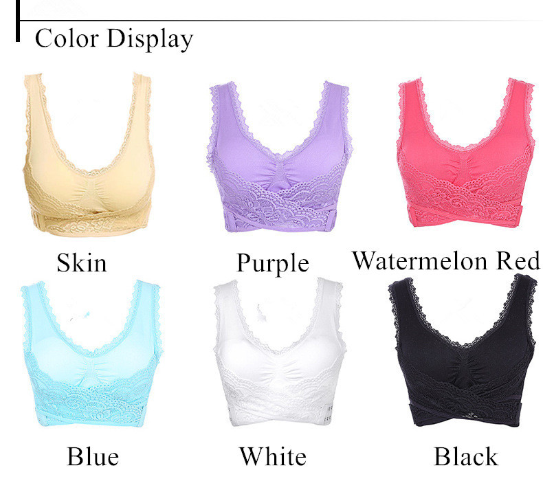 Sexy Solid Women Bra Breathable Seamless Fitness Wire Free Bralette Full Cap Push Up Gather Bralette BH with Padded for Women