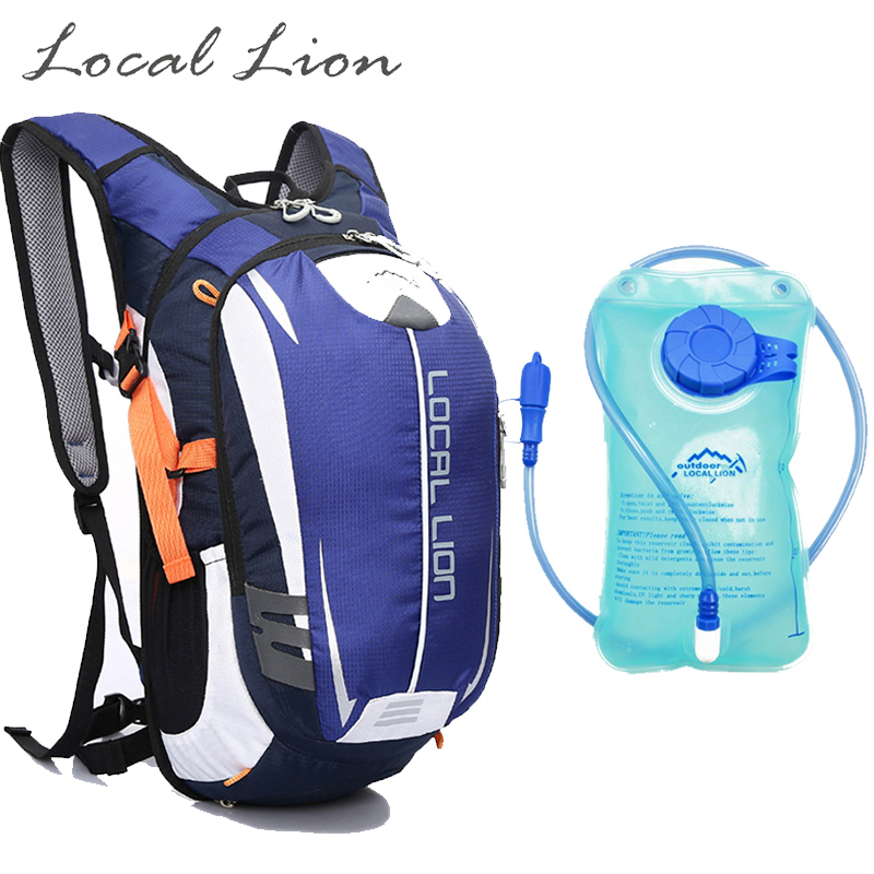 ФОТО LOCAL LION Outdoor Riding Backpack Sports Hiking Travel Cycling Backpack 18L  Suspension Breathable Waterproof Rucksack HT464