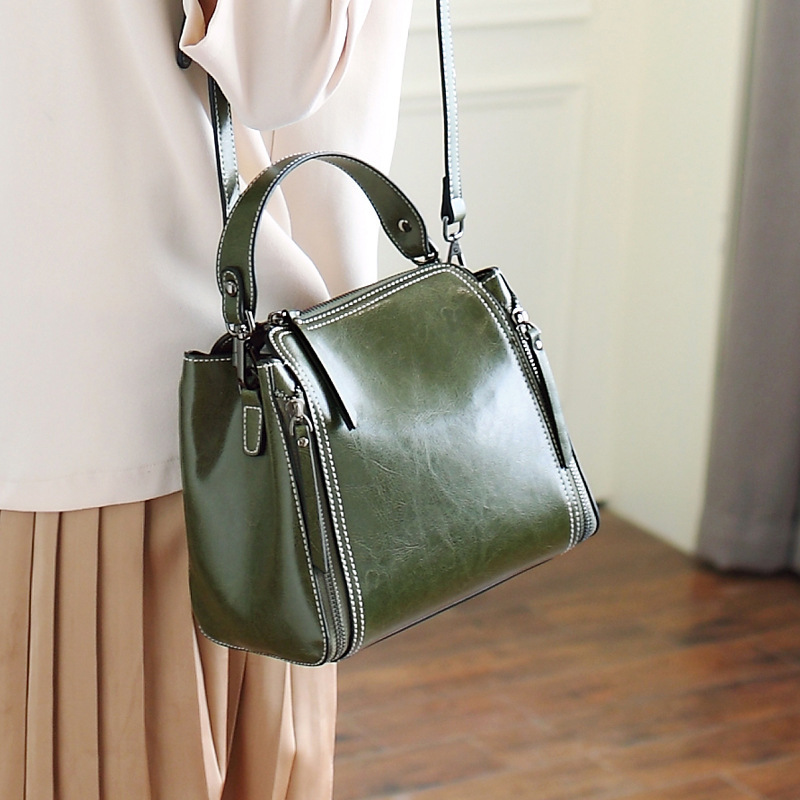 Genuine Leather Bag Women Handbag Genuine Leather Shoulder Bags Female Leather Handbags Shoulder Cross Body Bags Luxury Designer цена