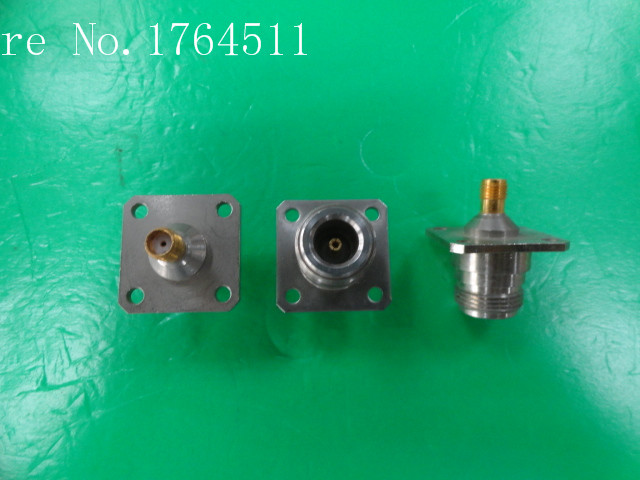 [BELLA] Imported N/SMA-KK DC-10GHz RF Flange Coaxial Adapter  --10PCS/LOT