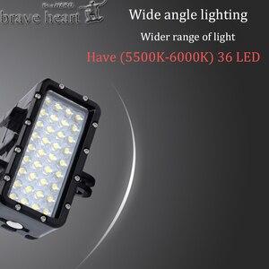 Image 3 - Nieuwe Go Pro Hero 5 36 Led Kralen Duiken Lamp Waterdicht Licht Voor Gopro 6 5 4 Xiaomi Yi 4K + Yi Lite Mijia Sjcam SJ8 Accessoires