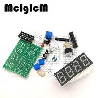 Высокое качество 100 компл. C51 4 биты электронные часы электронные Production Suite DIY Наборы C51 электронные часы