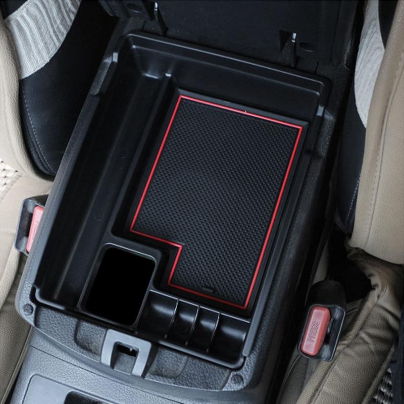 Foal Burning Car Central Storage Armrest Box Storage Box  For Nissan X-trail X Trail XTrail T32 Rogue 2014 2015 2016 2017 2018 P