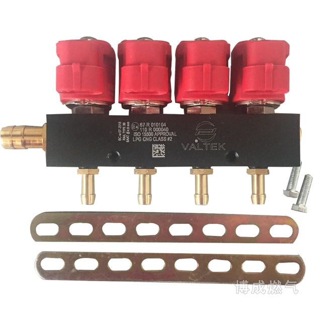 4-cylinder-3ohms-cng-lpg-injector-rail-super-silent-high-speed-common-injector-rail-gas-injector-and-accessories