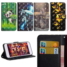 Luxury Flip Leather Case For LG K8 2018 Cover 3D Painted Wallet Card Slot Silicone K 8