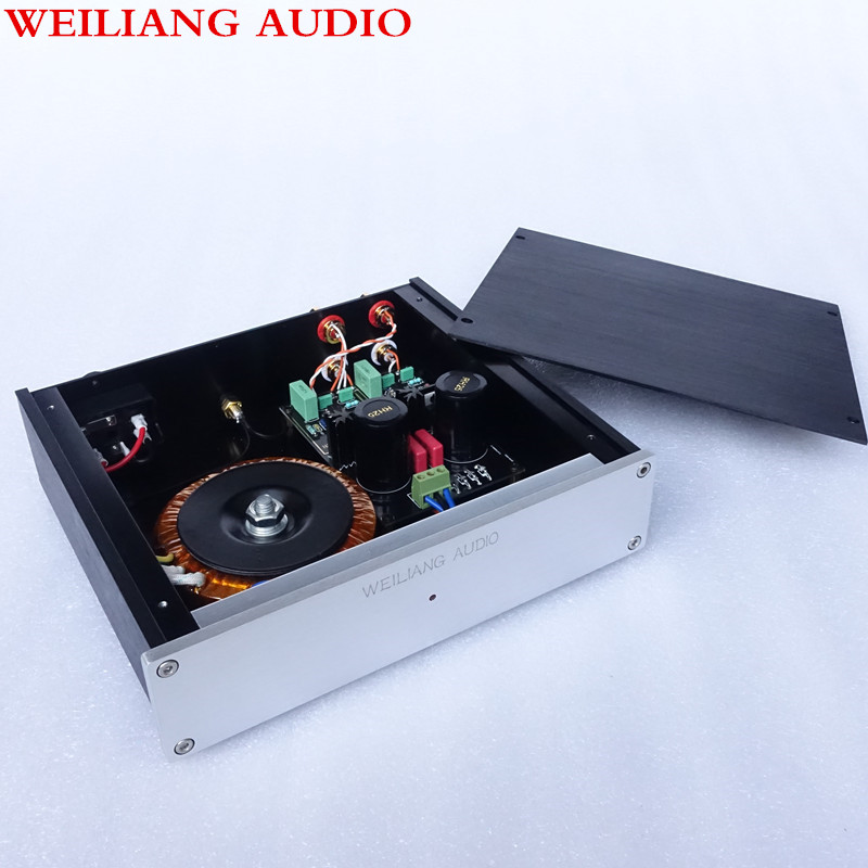 Breeze Audio HIFI DUAL circuit  turntable MM assembled amplifier for Phono stage