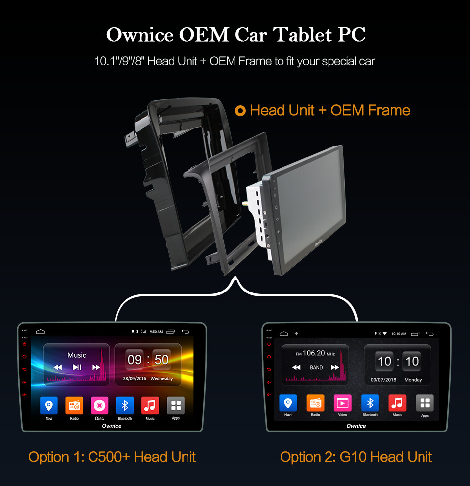 Best Ownice C500+ G10 Octa Core android 8.1 Car DVD player 32G ROM  for bmw E39 GPS Radio RDS GPS Navi stereo player 2G ram 4G LTE 5