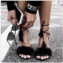 Sommer Ledersandalen Frauen High Heels Fringe Gladiator Sandalen Frauen Lace Up Schuhe Frau Echtem Leder Frauen Sandalen