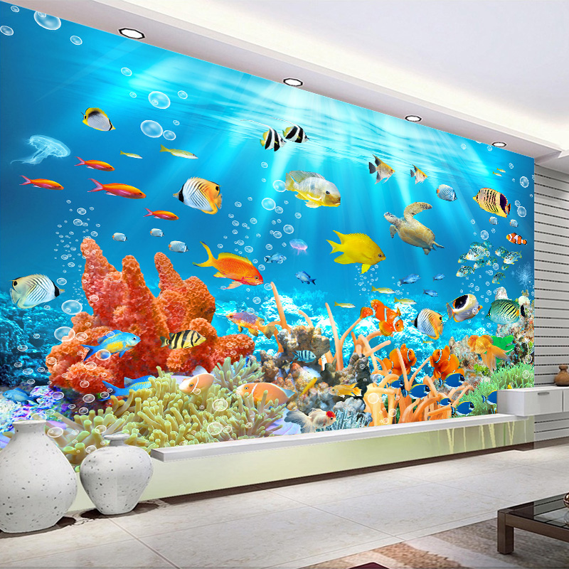 Custom Photo Wallpaper Wall Covering For Walls 3D