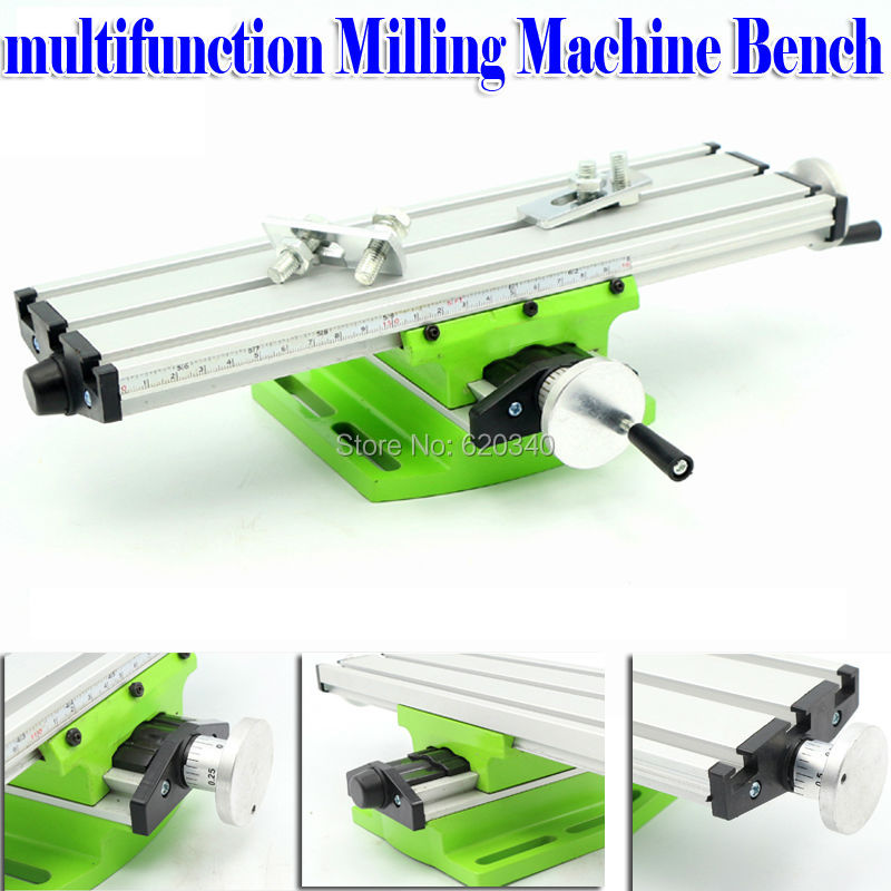 Mini Multifunctional Cross Working Table For Drilling Milling Machine Bench Vise Mechanic font b Tools b