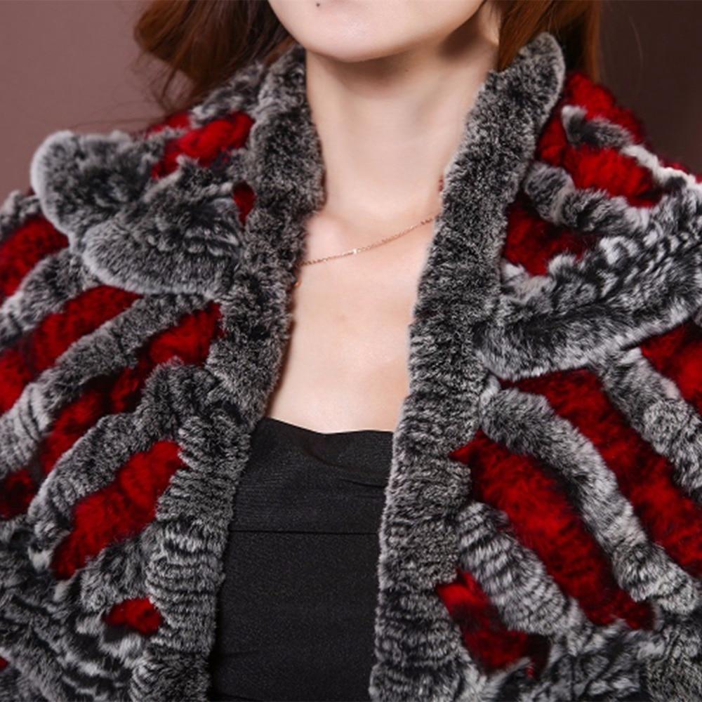 >Ultimate DealShawl Pashmina Rabbit-Hair Spring-Boutique Women's High-Quality Hem Rex Fur ZY87015 Hierarchy