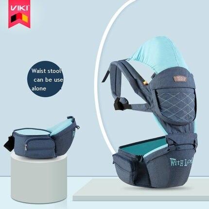 VIKI 0-48 mois respirant multifonctionnel face avant porte-bébé infantile confortable fronde sac à dos pochette Wrap bébé