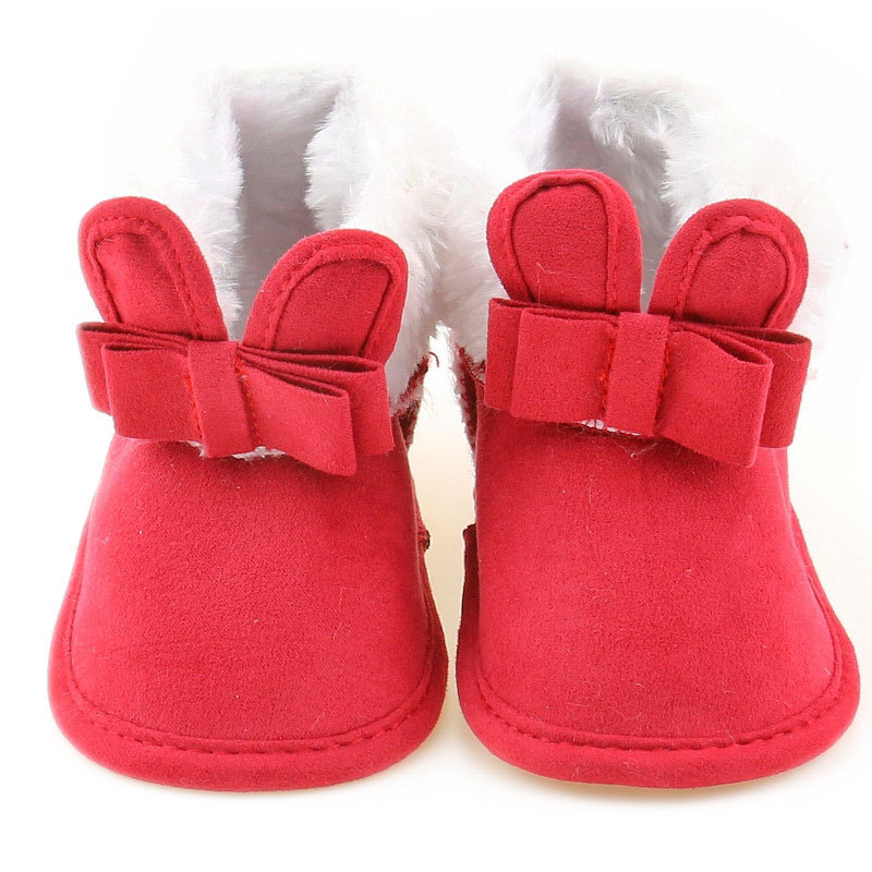 Fashion Baby Moccasins PU Leather Baby 2018 New First Walker Soft-Soled Baby Girl Ankle Boot Shoes For Toddlers