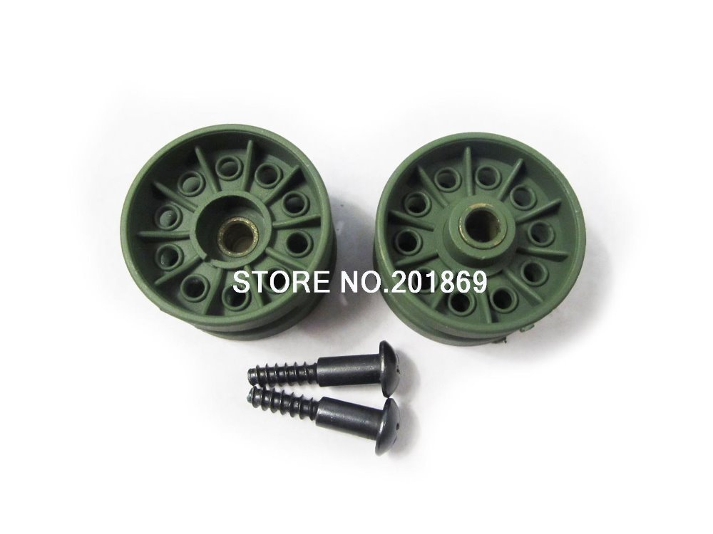 HENGLONG 1 16 1 16 plastic idler wheels for Heng Long 3909 1 Russian T34 85