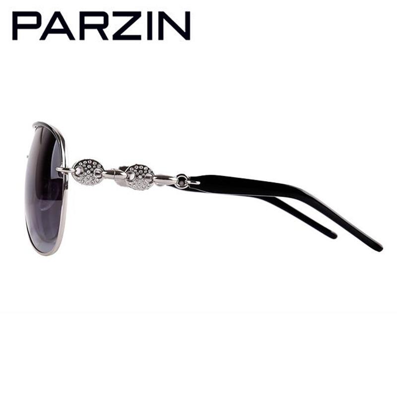 Parzin Handmade Strass Polarisierte Sonnenbrille Frauen Luxus - Bekleidungszubehör - Foto 4