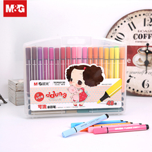12/24/36/48 Colors Children Washable Watercolor Pen Brush Art Marker Painting Drawing Sketch School Student Supplies QCP92190