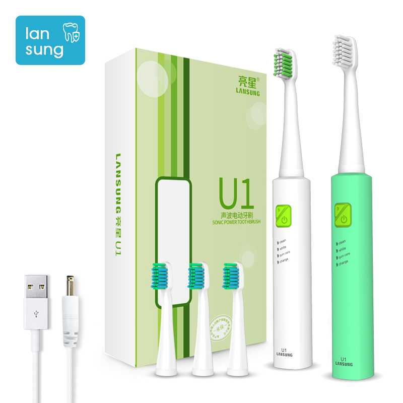 Electric Toothbrush Lansung U1 Ultrasonic Toothbrush Electric Tooth Brush Electric Toothbrush Cepillo Dental Oral Hygiene 3