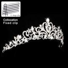 Конкурс кристалл король корона жемчужина принцесса невесты тиара диадема свадебные диадемы и короны горный хрусталь королева свадебные аксессуары для волос