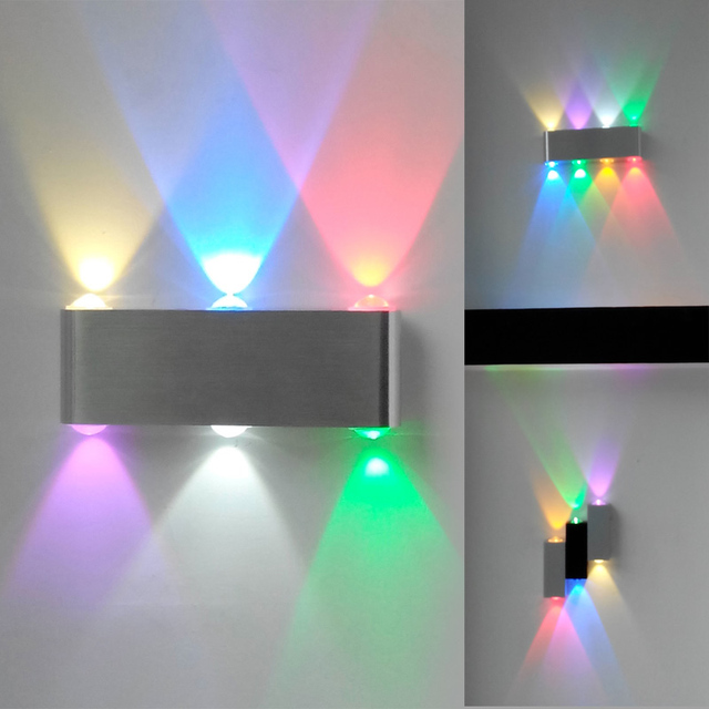Bedroom Art Deco Led Modern Light Aluminum Dining Room Wall Decor Lamp Bedside Lighting Fixtures Indoor